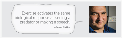 Firdaus Dhabhar quote, Stanford Neurosciences Institute