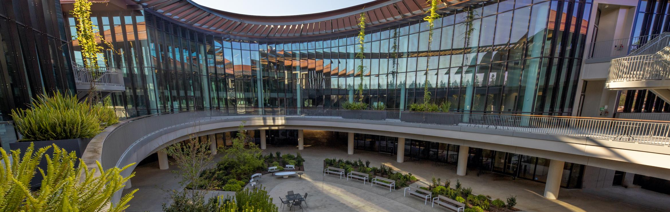 The Stanford Neurosciences Building houses the Wu Tsai Neurosciences Institute's Community Labs