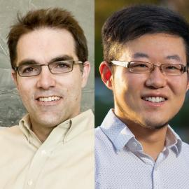 Justin Du Bois and Guosong Hong were awarded the Gores Award for excellence in teaching