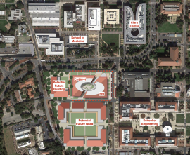 Site Plan, Stanford Neurosciences Institute and ChEM-H