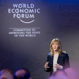 Stanford Neurosciences Institute, Davos 2018, Beth Darnall