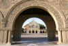 Main Quad Archway to Memorial Church